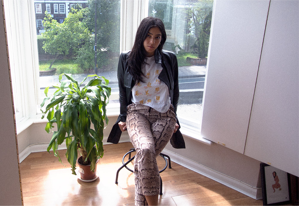 isabelle angelebaby london snakeskin trousers