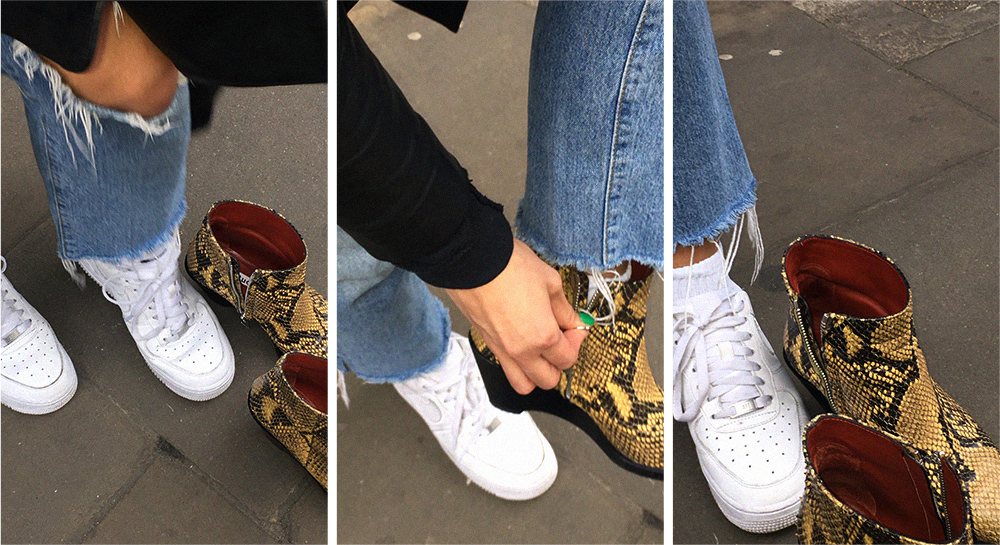 angelebaby london acne cony boots