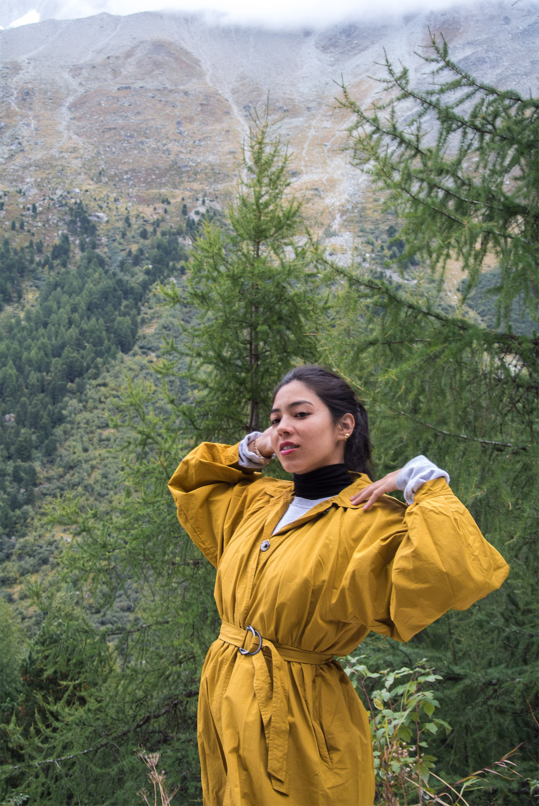 angelebaby switzerland arolla yellow zara trench
